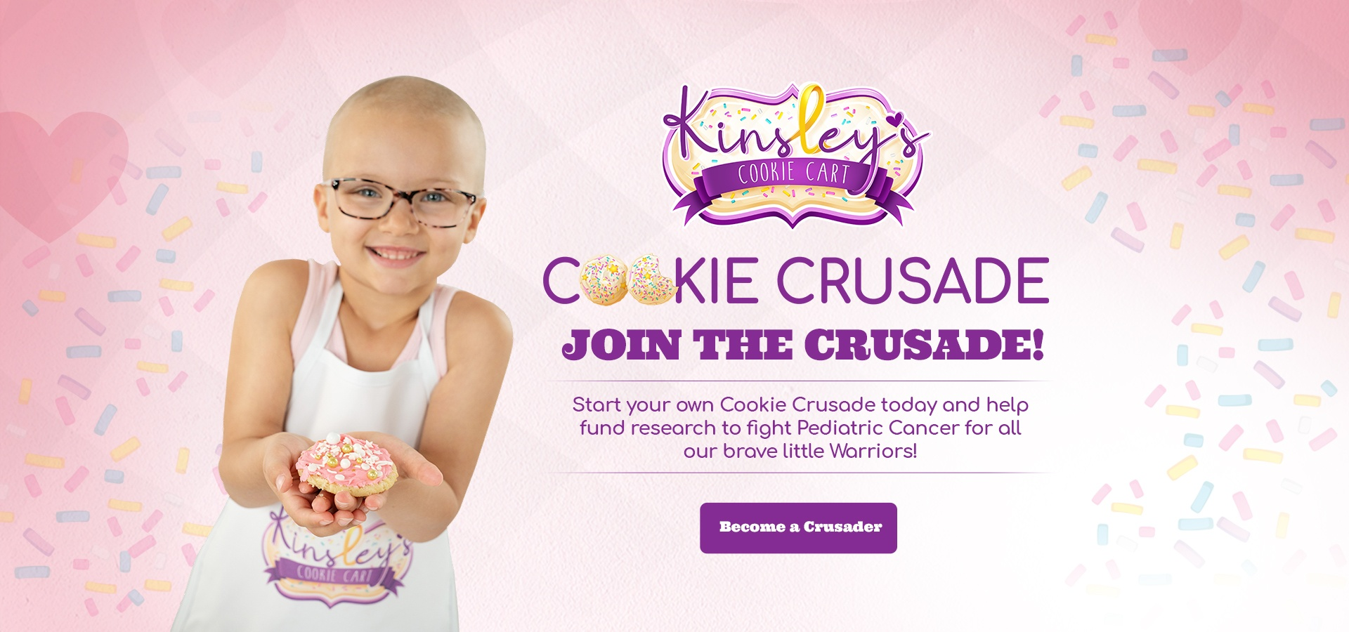 Cookie Crusade banner