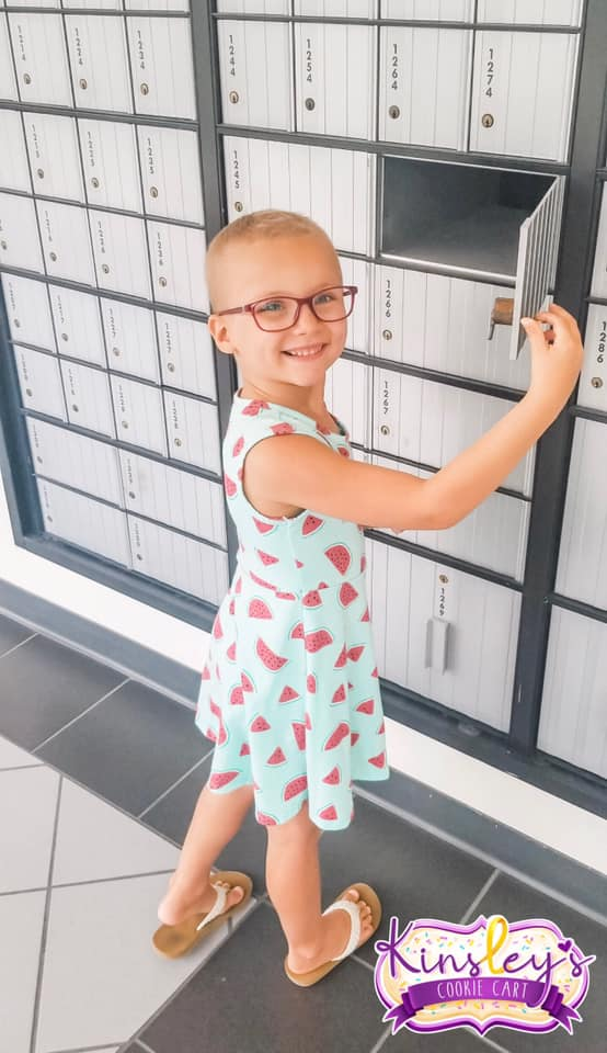 Kinsley opening a PO Box
