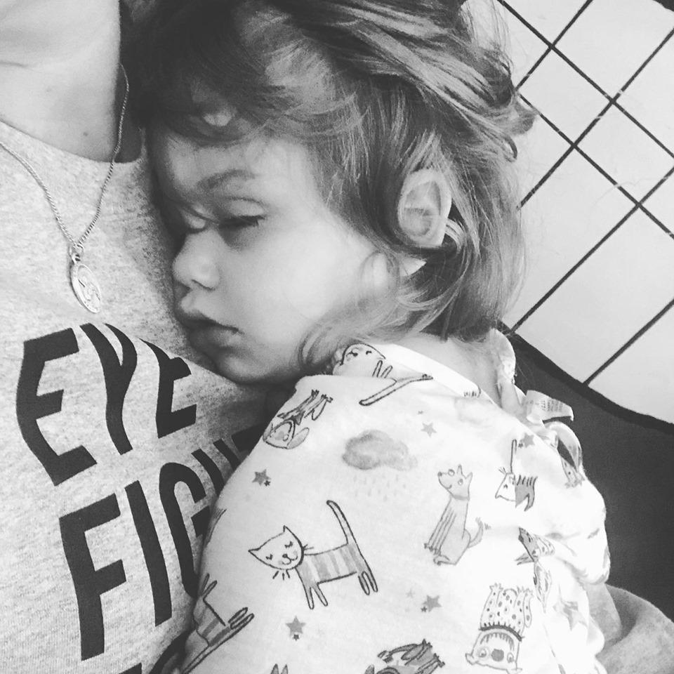 Little girl (Sloane) sleeping