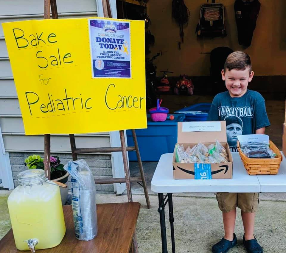 Kinsley's cousin hosting a cookie crusade